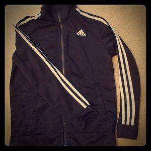 Adidas full zip youth L jacket